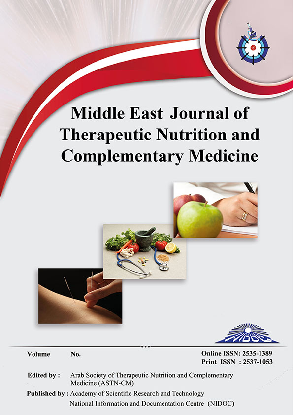 Middle East Journal of Therapeutic Nutrition and Complementary Medicine